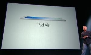 iPad Air Apple Keynote