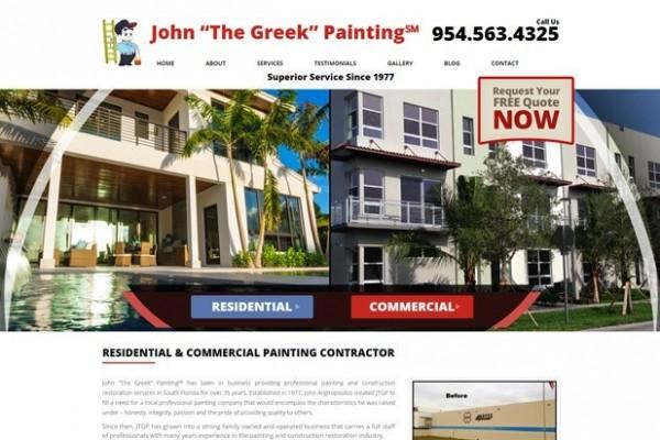 "John ""The Greek"" Painting"