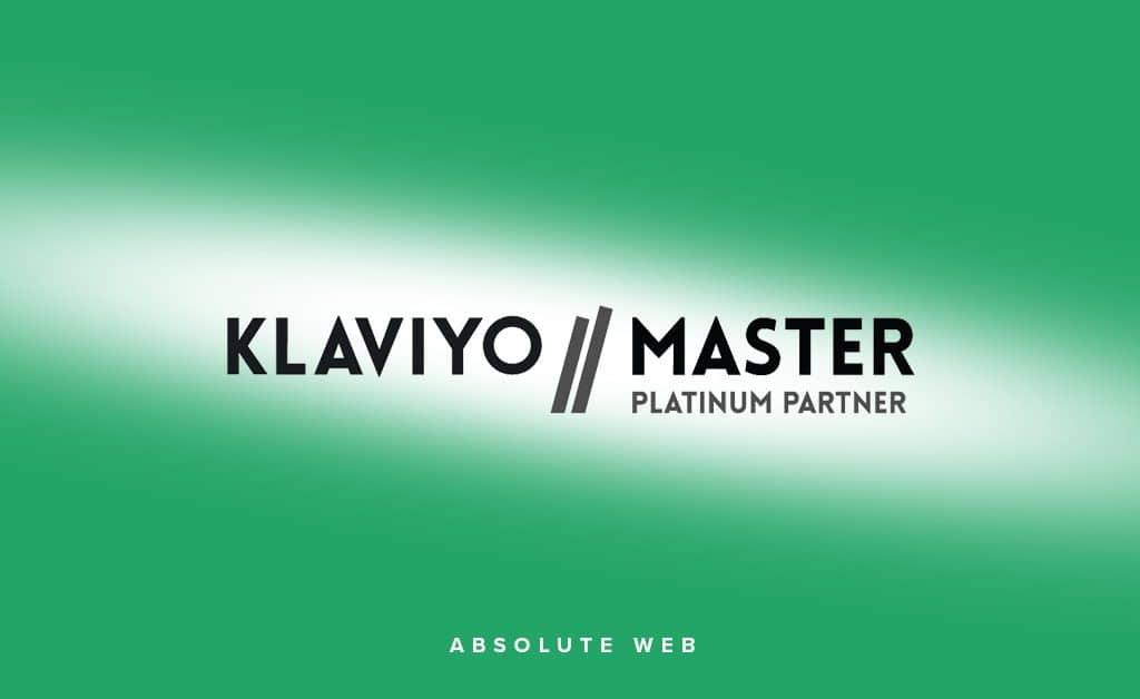 "Awarded ""Klaviyo Platinum Partner"" Status"