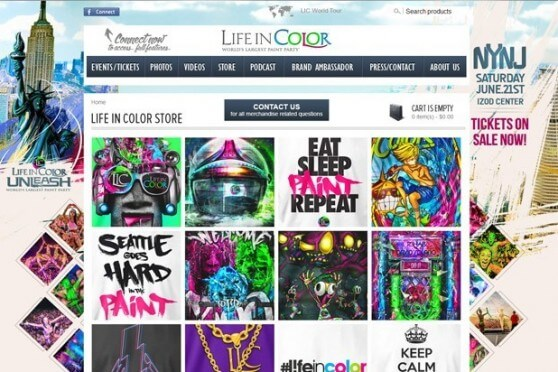 Life In Color Merchandise