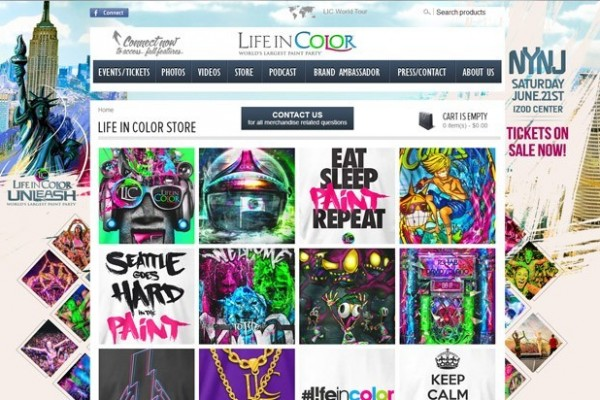 Life In Color Merchandise