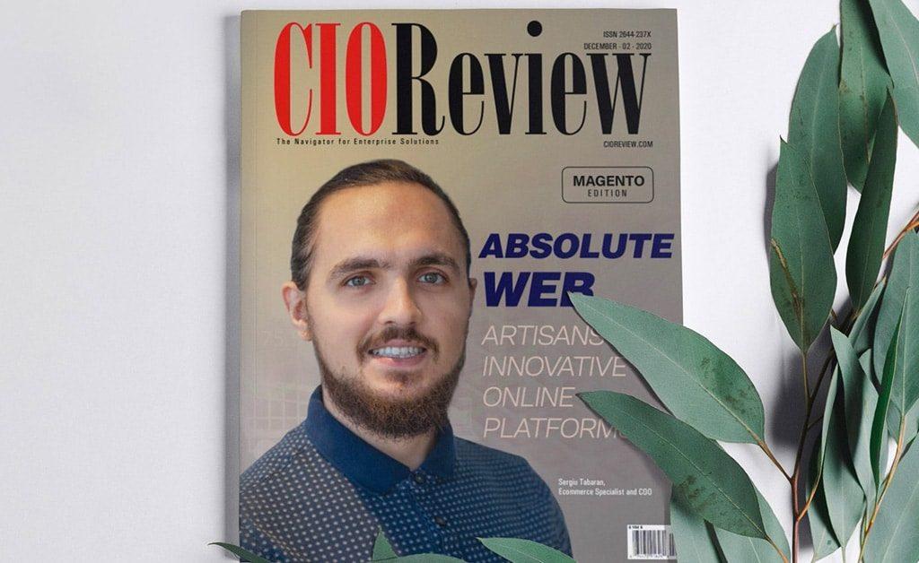 """CIO Review """"Magento Edition"""" Magazine Cover"""