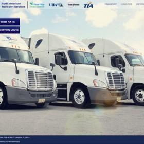North American Transport Services: Miami Transportation Website Design