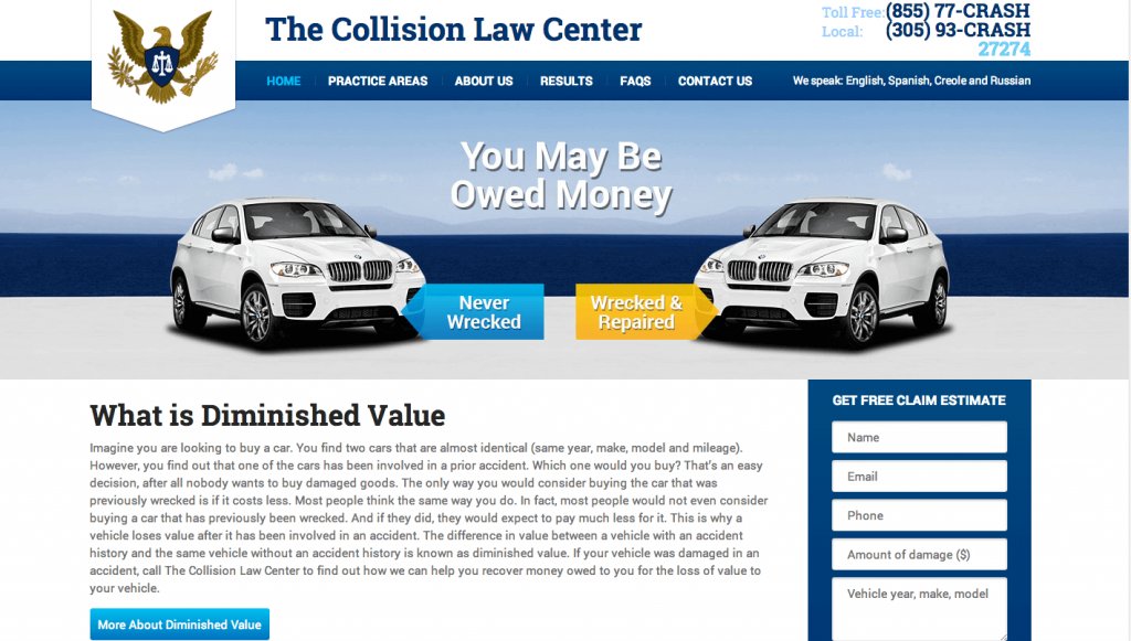 Our Latest and Greatest Law Website Design