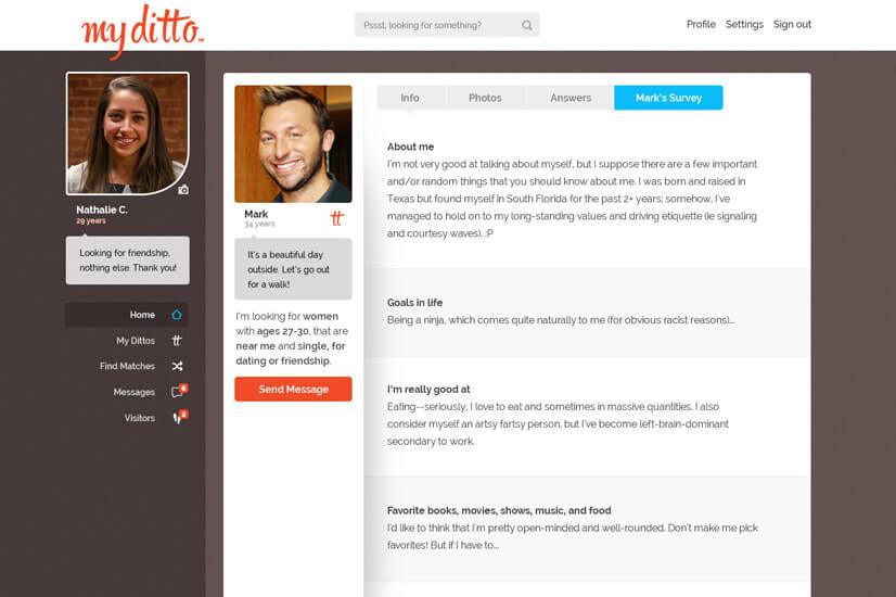dating website development