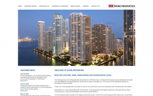 swire properties miami web design
