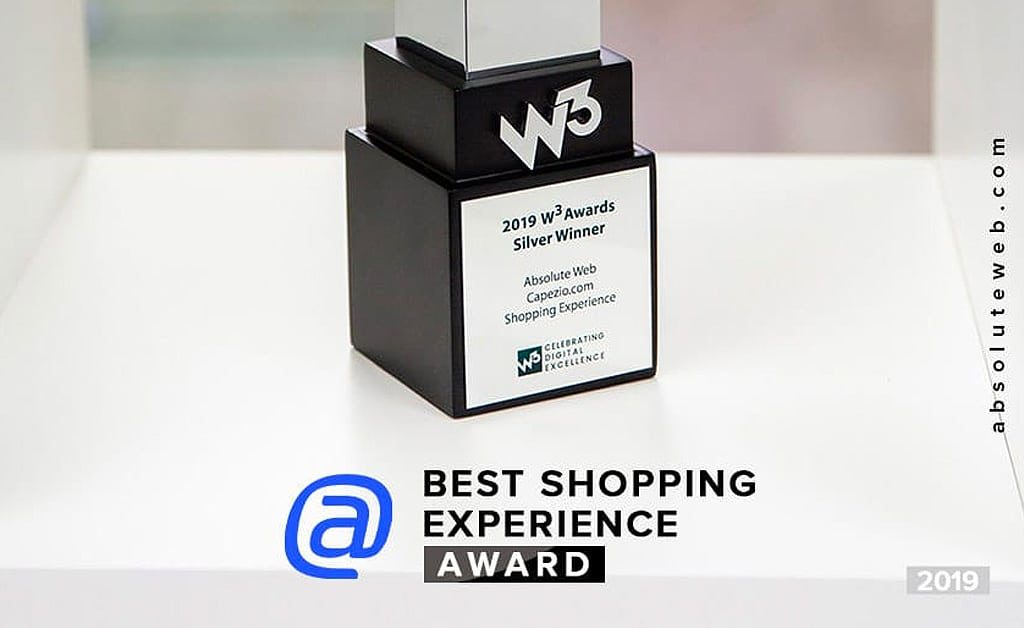Award for 'Best Website Shopping Experience'