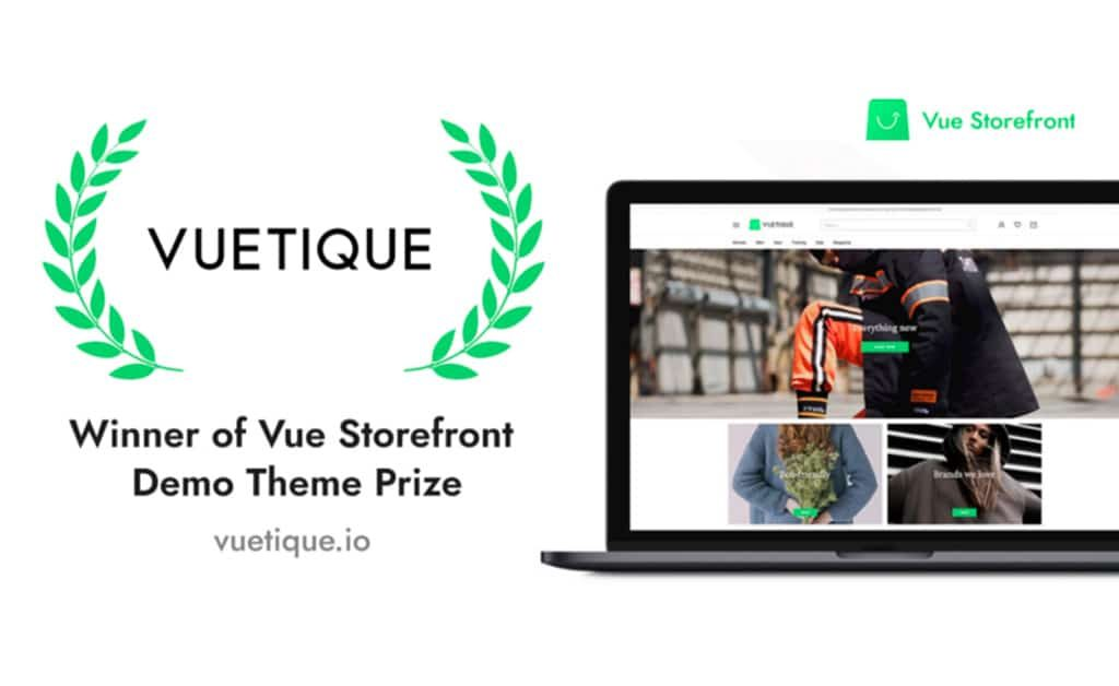 Vue Storefront Agency PWA Competition #1 Winner