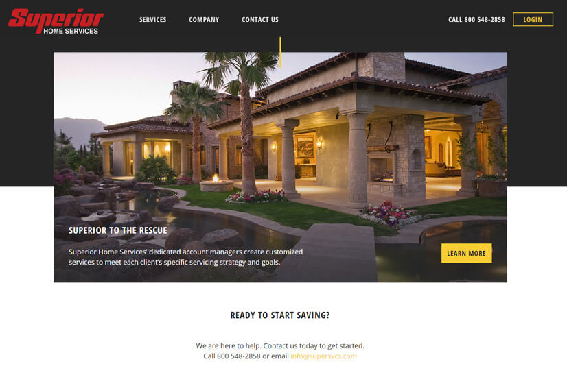 super-home-services-webdesign
